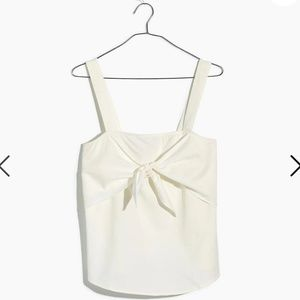Madewell Tie-Front Cami Top